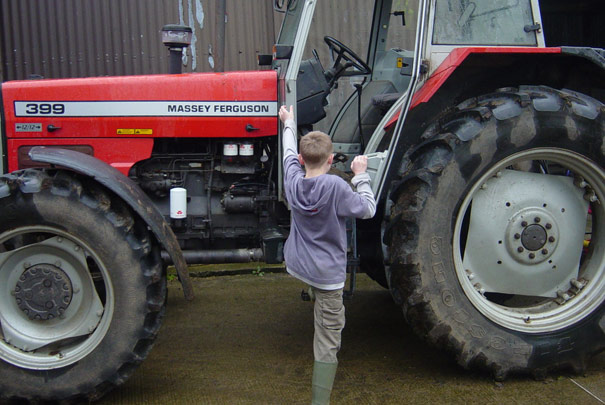 Tractor Safety Guidelines for Your Child // www.ruralmutual.com/farmsafety