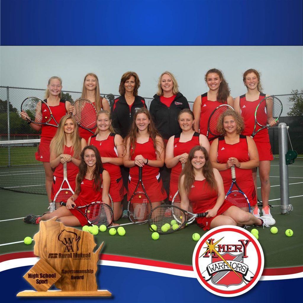 amery tennis team