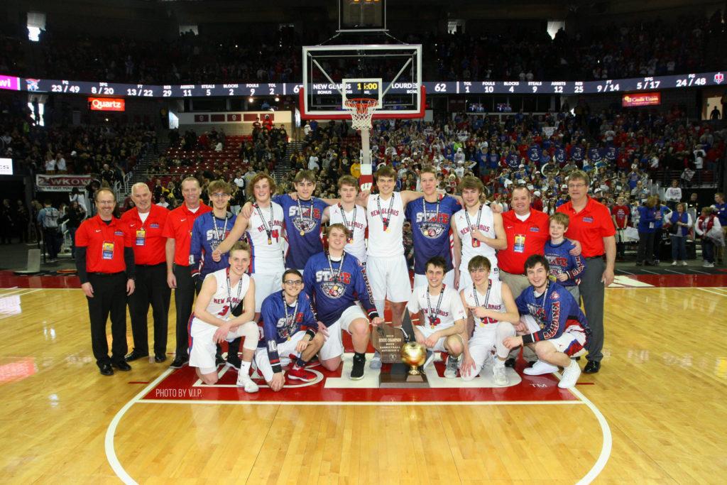 New Glarus basketball