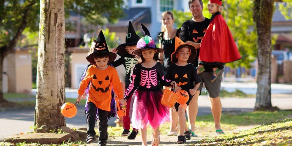 Supervision and Safe Walking on Halloween Night