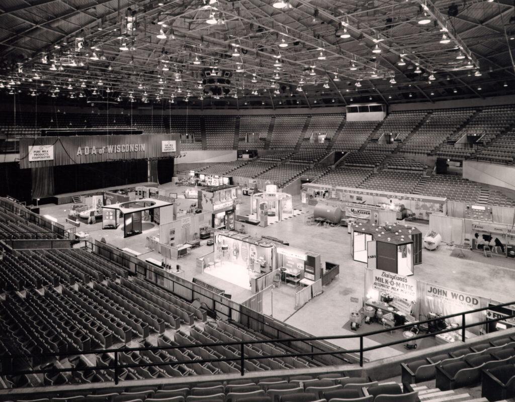 1967 trade show floor