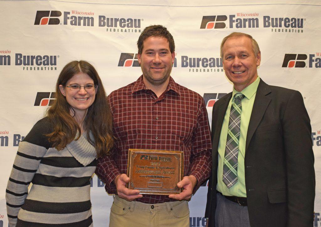 Gleasons Win Farm Bureau's Achievement Award