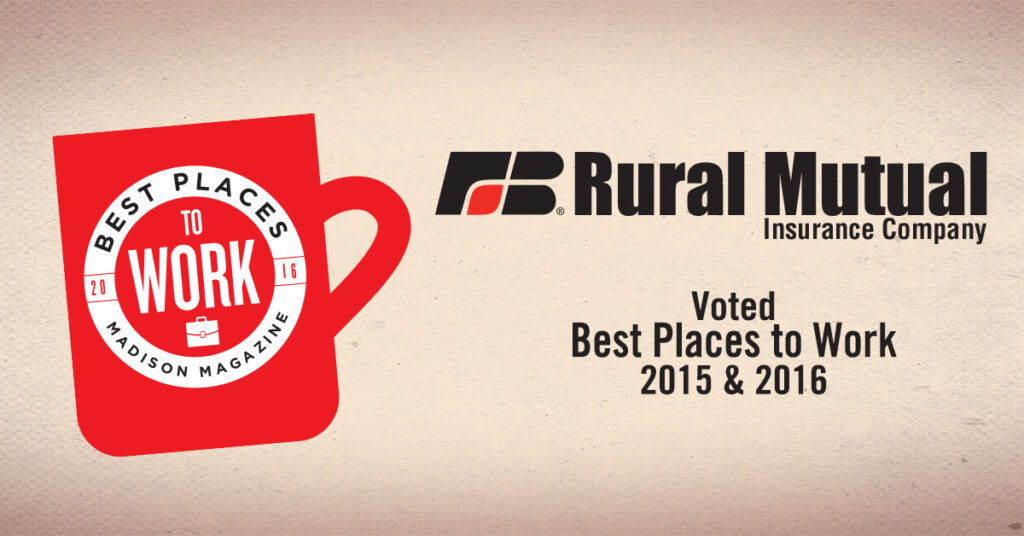 rural mutual voted best places to work