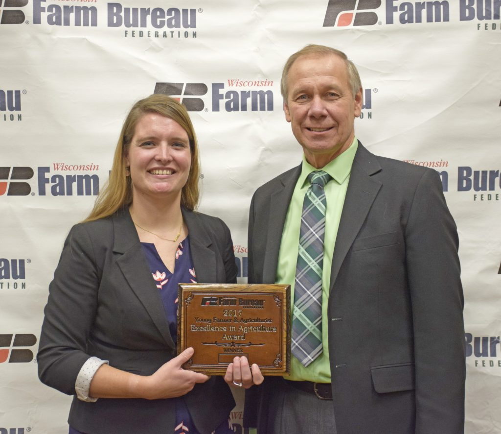 Lynn Dickman Wins Farm Bureau's Excellence in Agriculture Award