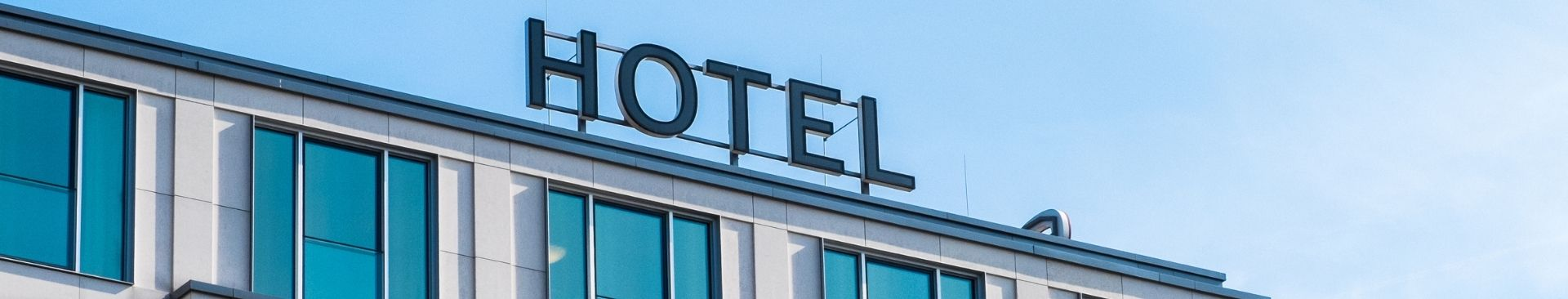 hotel sign on building