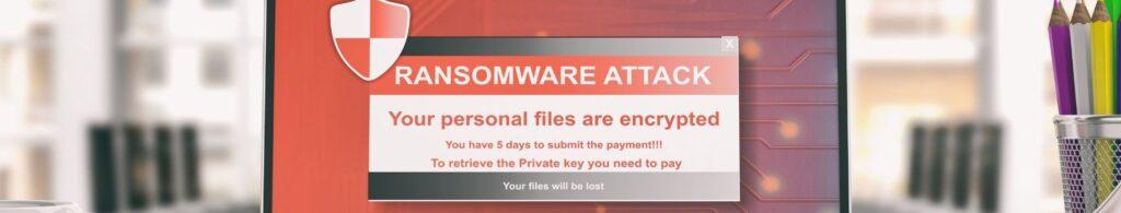cyber scam ransomware attack